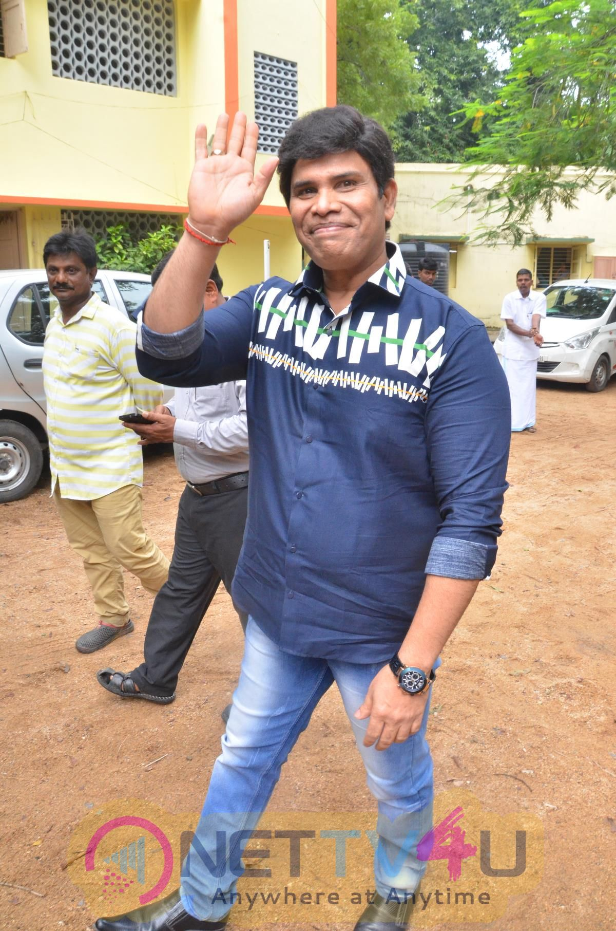 Actor Anandaraj Birthday Celebration Stills