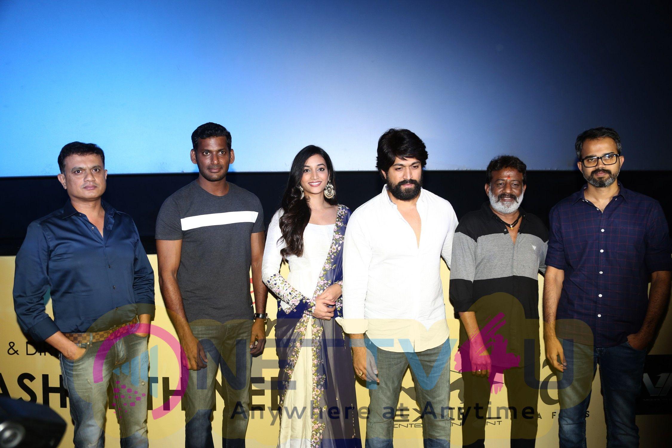KGF Movie Trailer Launch Photos