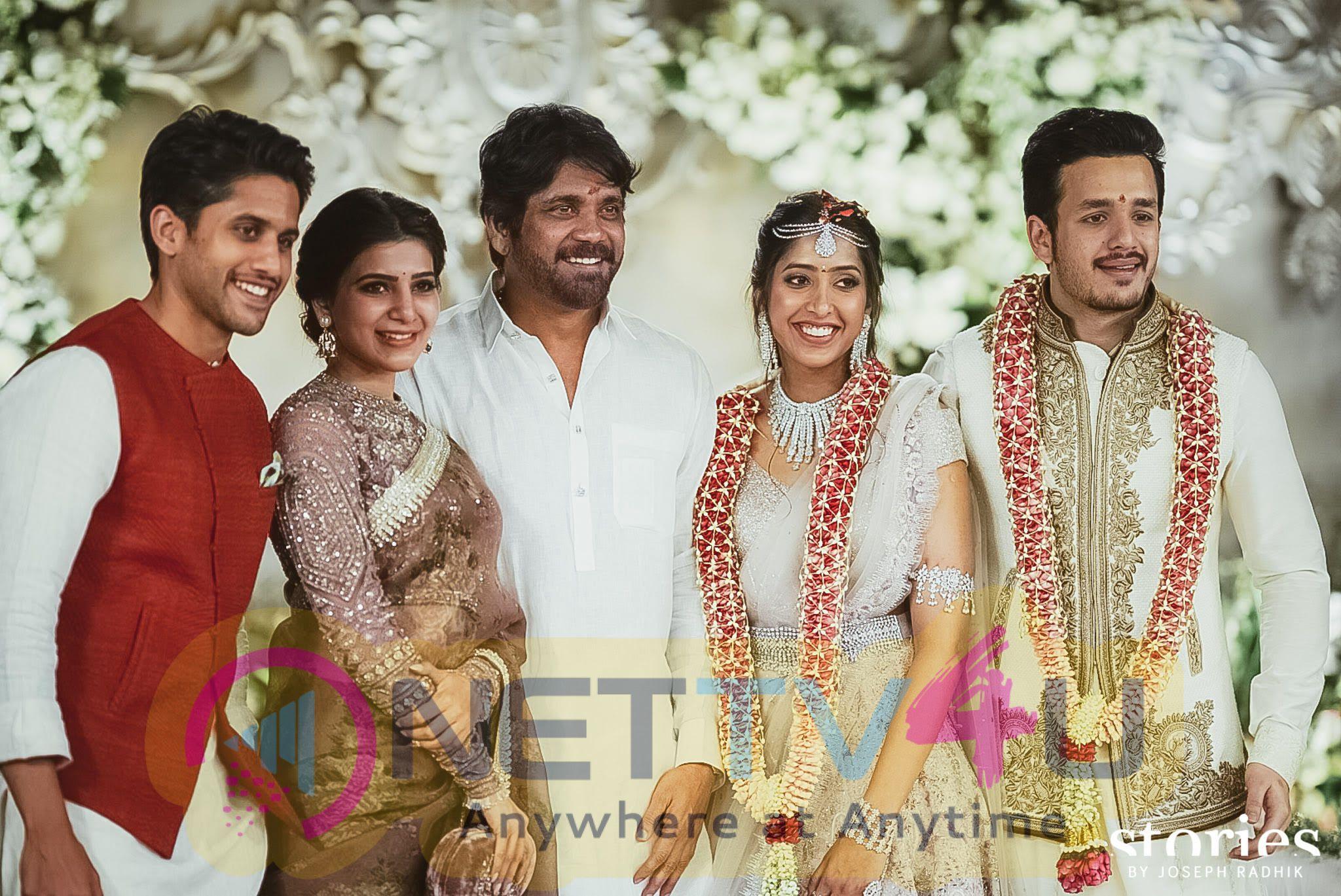 Akhil Akkineni And Shriya Bhupal Engagement Unforgettable Images