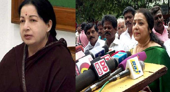 Latha Lauds Late CM Jayalalithaa!