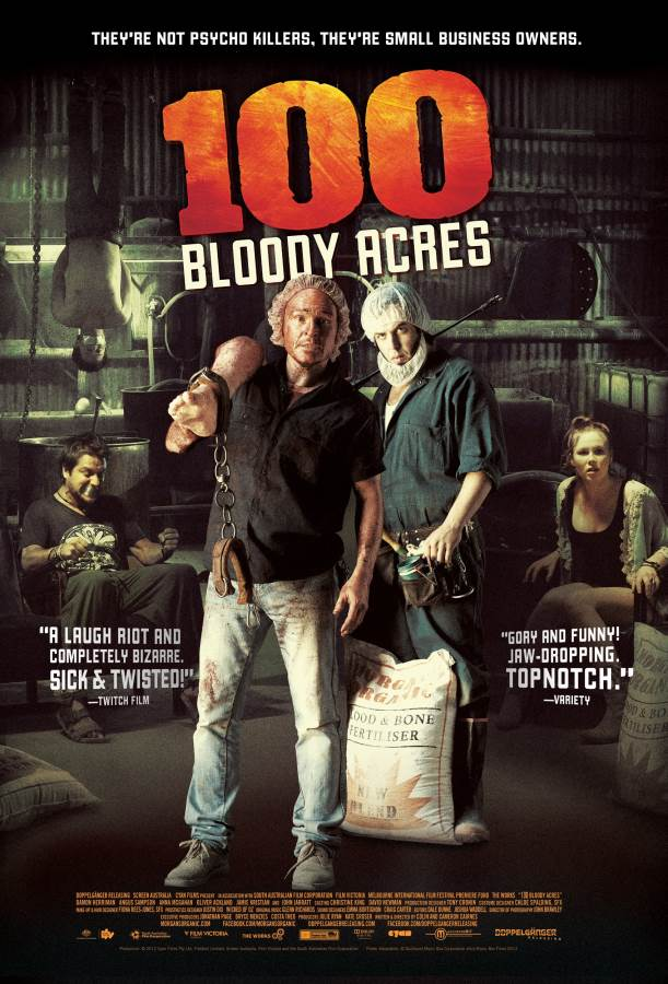 100 Bloody Acres Movie Review English