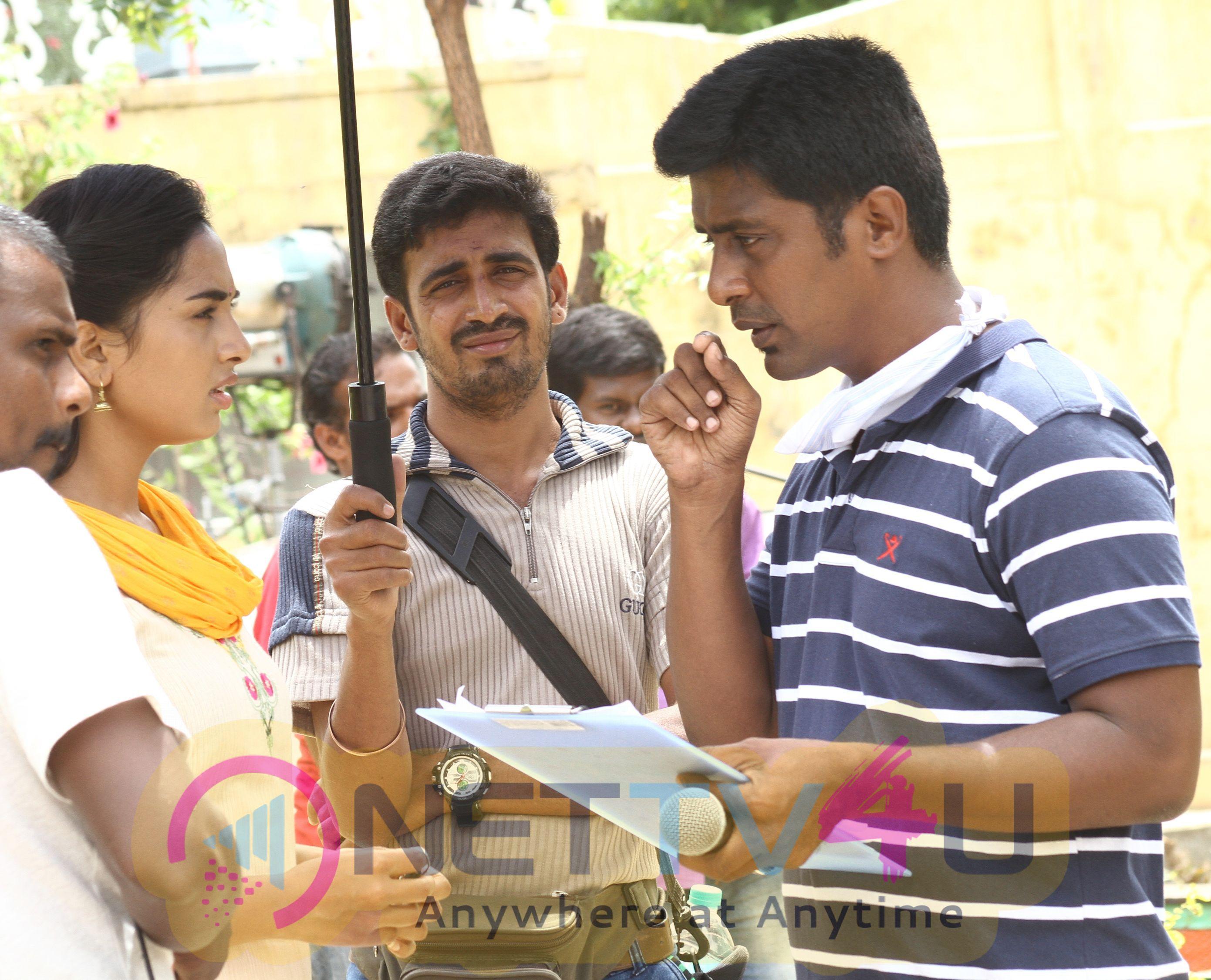 Mupparimanam Tamil Movie Working Latest Images