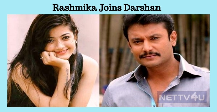 Rashmika Joins Darshan! Kannada News