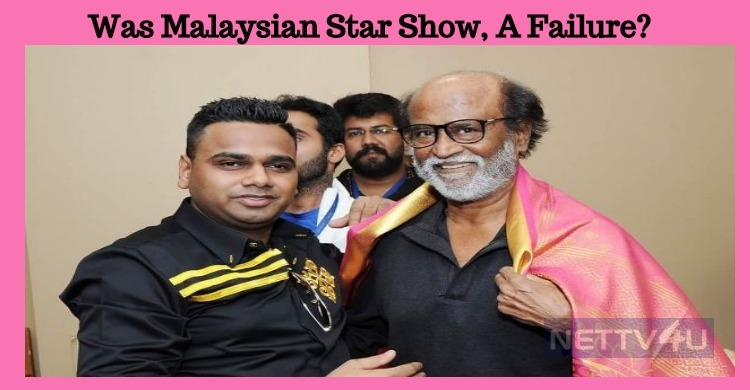 Was Malaysian Star Show, A Failure?