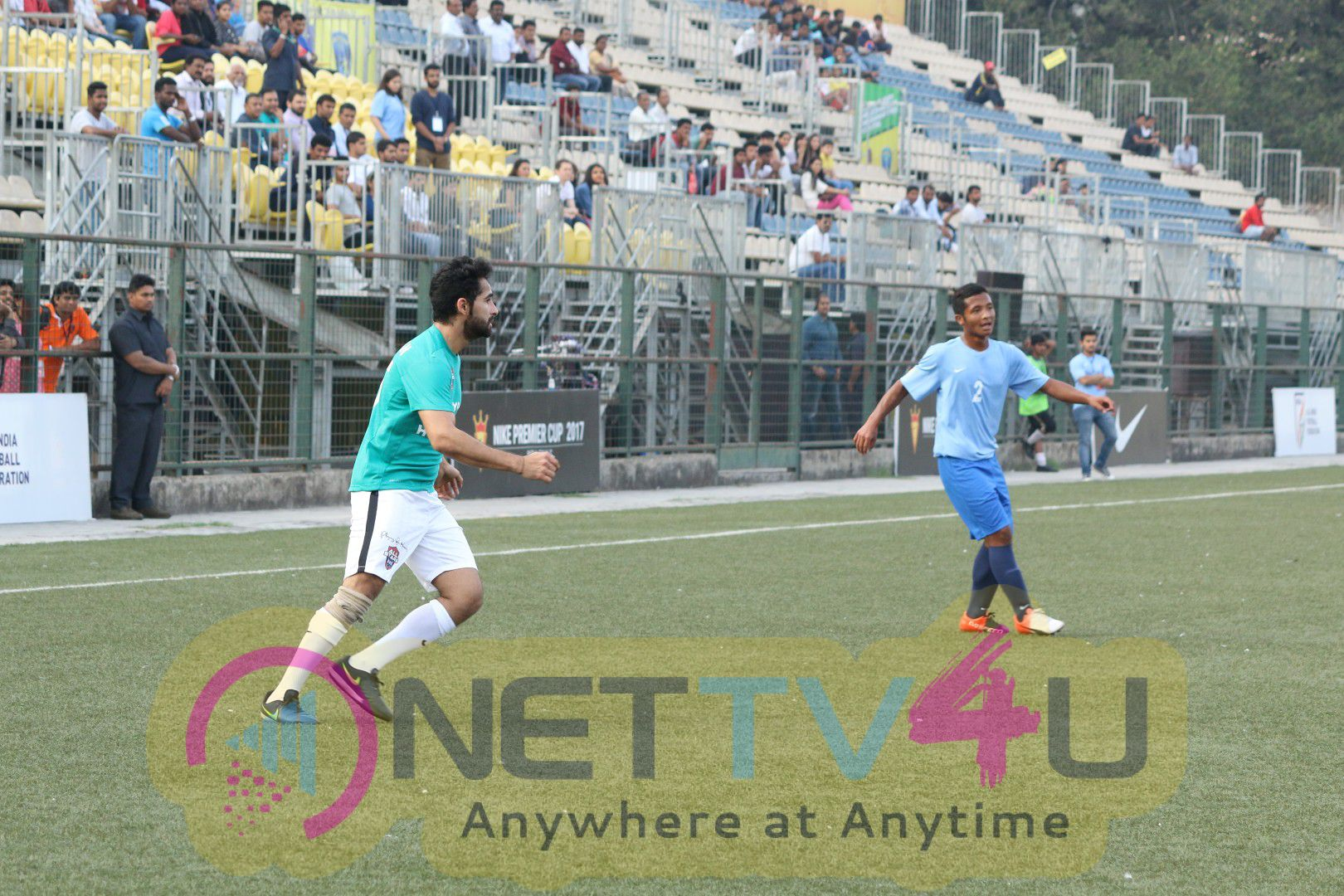 Abhishek Bachchan Graces Nike Premiere Cup U 16 Football Tournament Exhibition Match Recent Good Looking Stills