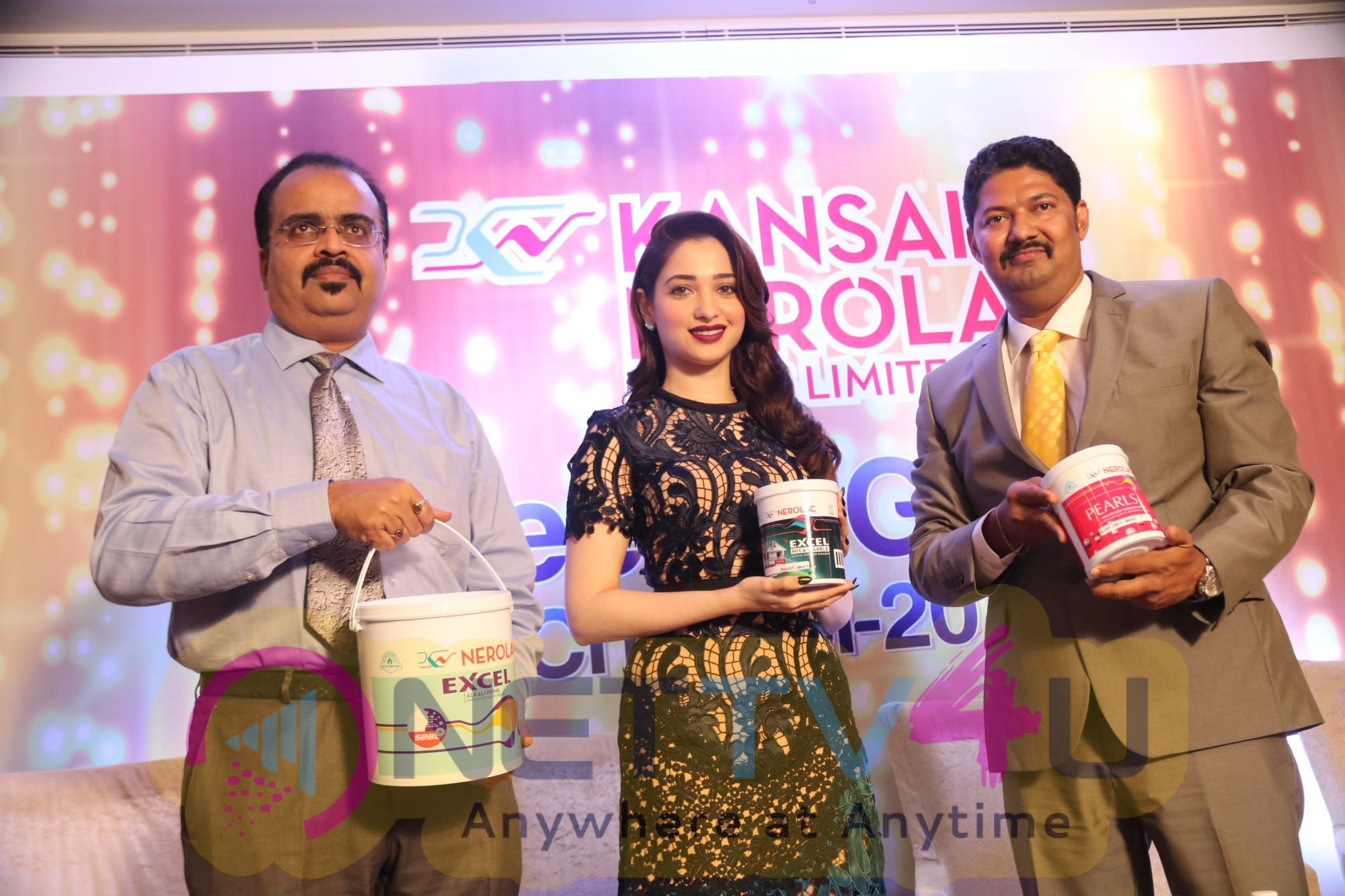 Actress Tamannaah Launch Kansai Nerolac Introduces New Products Stunning Stills