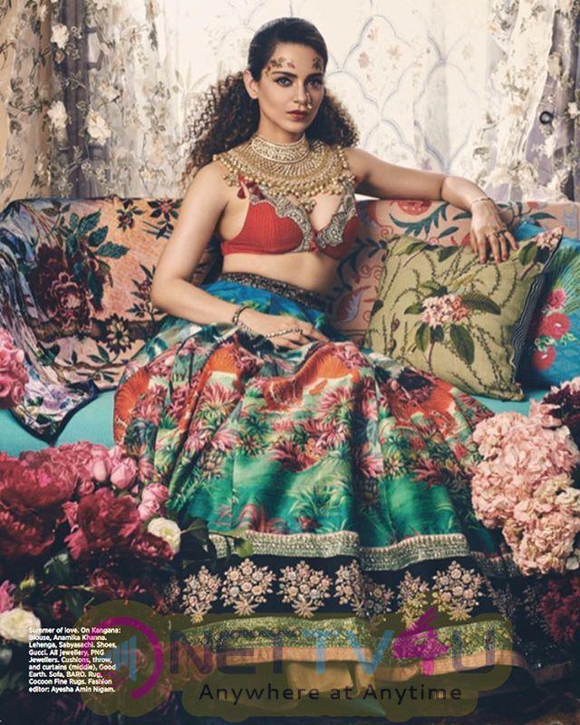 Bollywood Actress Kangana Ranaut Photoshoot Hindi Gallery