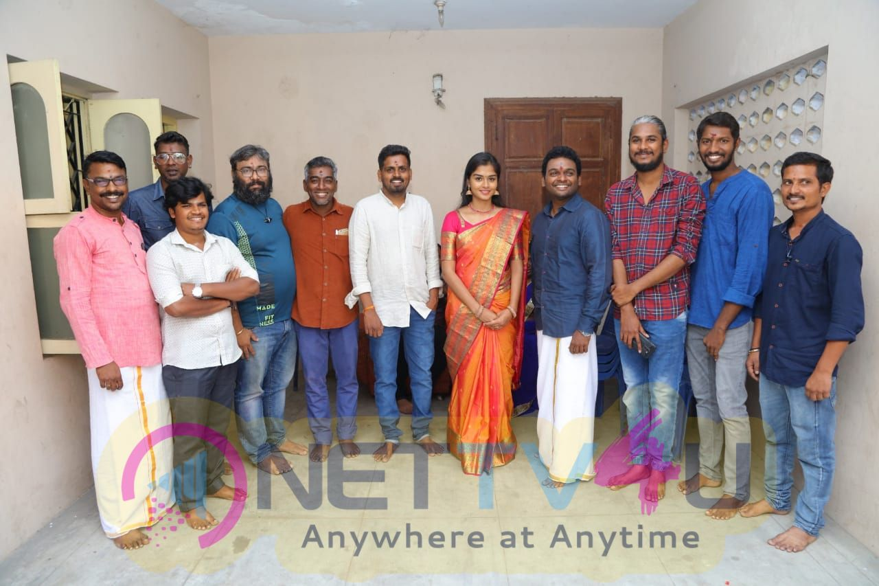 Hungry Wolf Entertainment And Production Movie Pooja Images