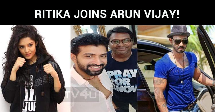 National Award Winning Actress Joins Arun Vijay!