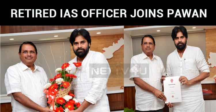 Retired IAS Officer Joins Pawan's Janasena!
