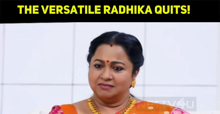 Radhika Retires From TV Serials? What Will Happ..
