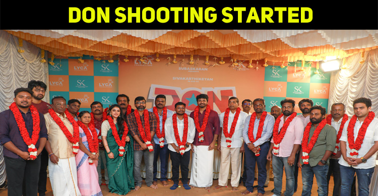 Sivakarthikeyan Started Shooting His Next With A Huge Cast!