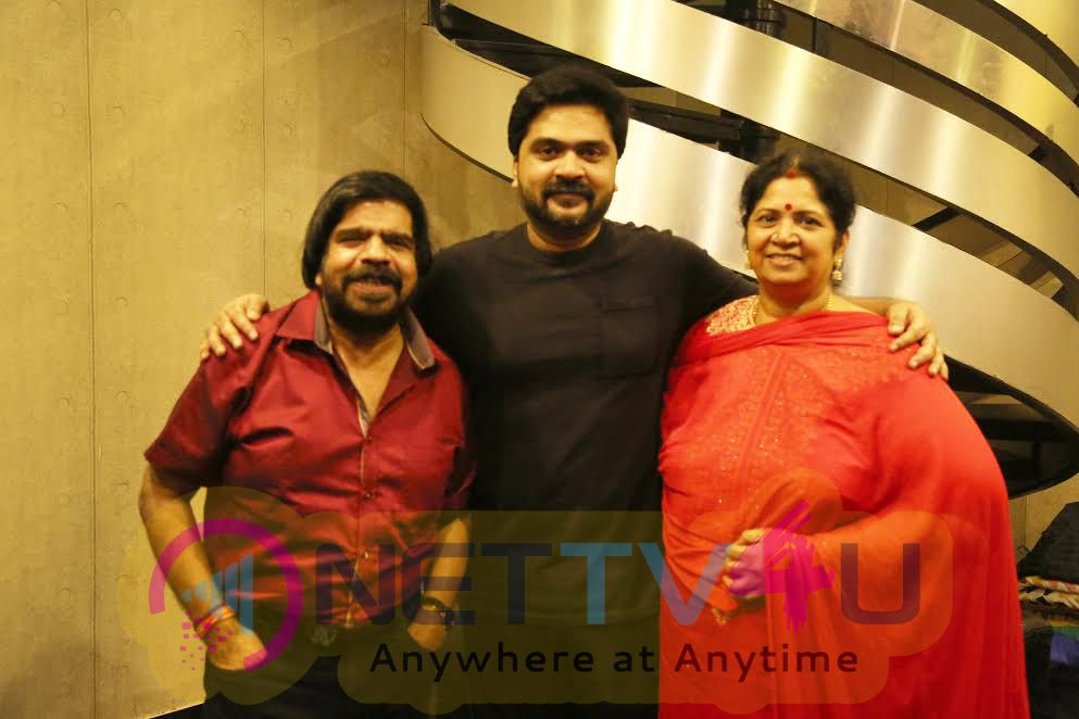 STR Has Finished Composing All The 5 Songs Of Sakka Podu Podu Raja Movie Stills