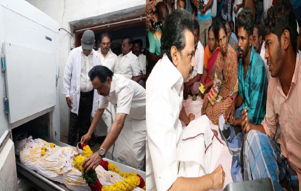 Stalin Visits Thangachimadam! Pays Tribute To Britjo!