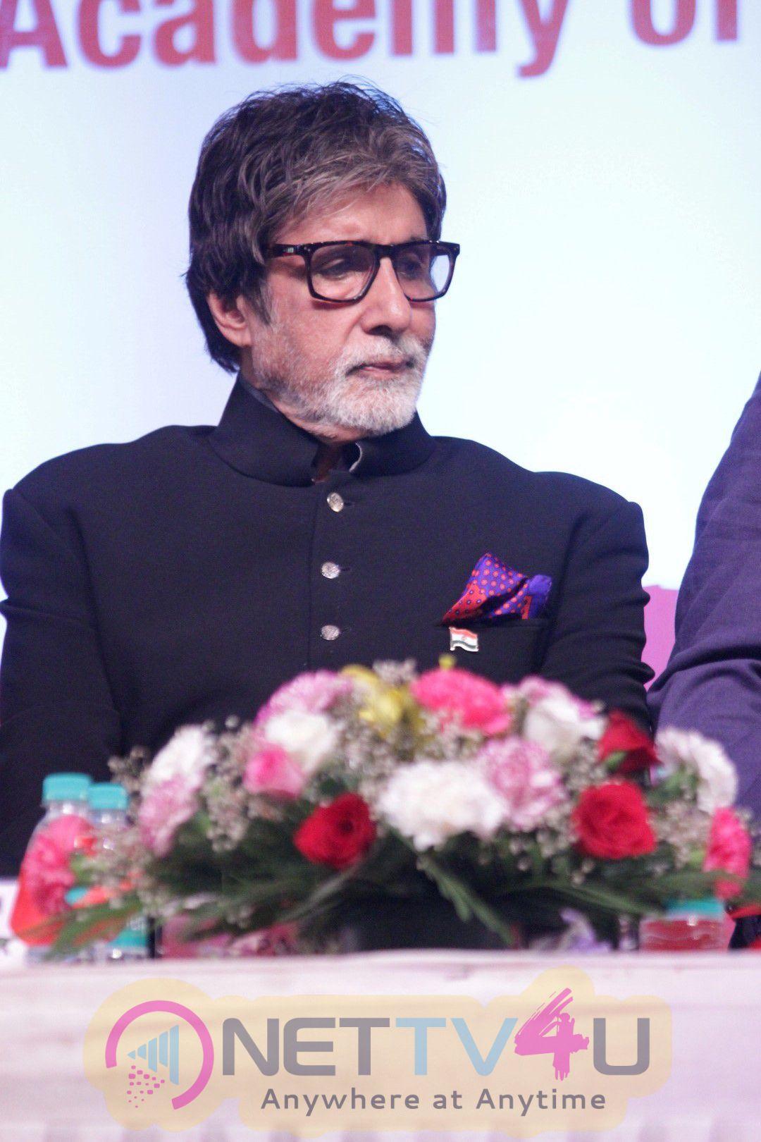 Stills Of Amitabh Bachchan Launches Ramesh Sippy Academy Of Cinema & Entertainment