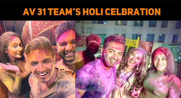 AV 31 Team's Holi Celebration!