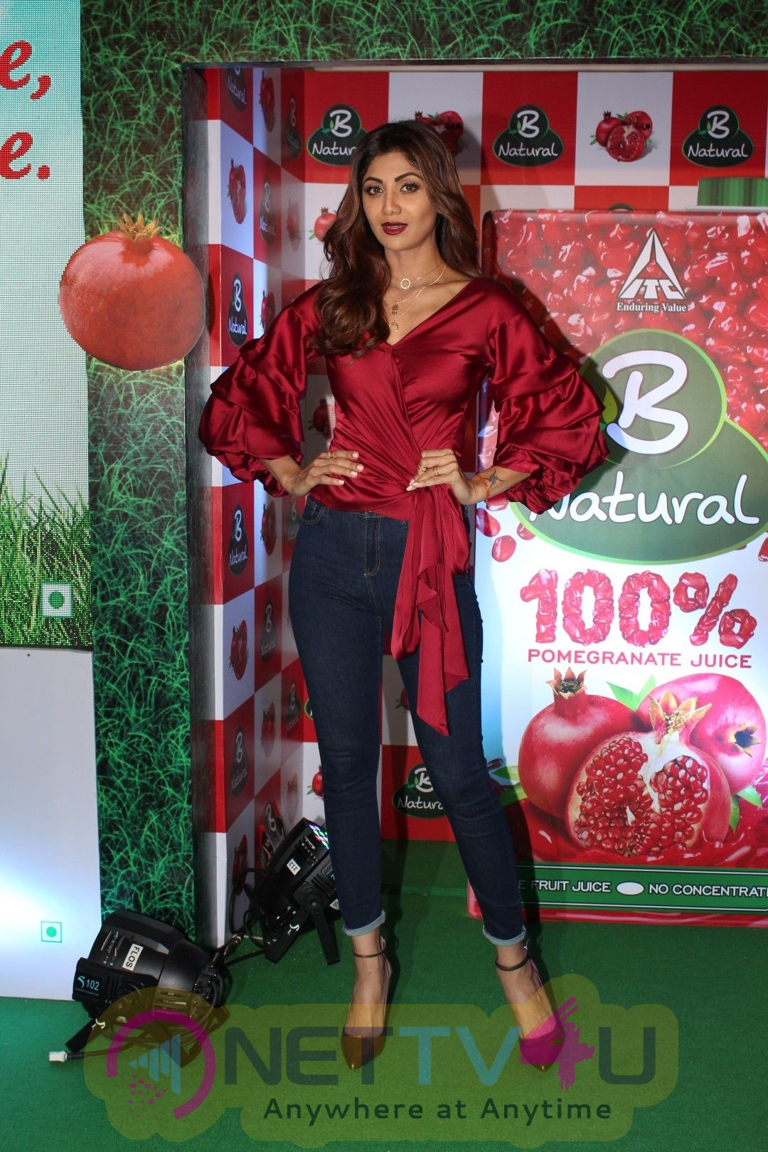 Shilpa Shetty At Launch Of B Natural Fruits Beverages Event Stills