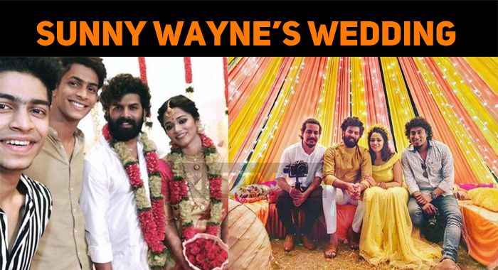 Celebs Tweet About Sunny Wayne's Wedding! Oru Adaar Love Actor Graced The Event!