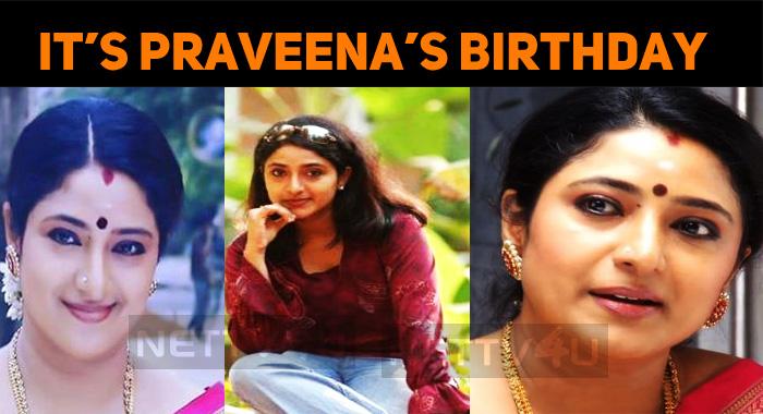 Priyamanaval Actress Praveena Celebrates Her Birthday, Today!