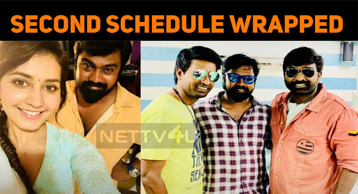 Vijay Chander – Vijay Sethupathi Project Second Schedule Wrapped Up!
