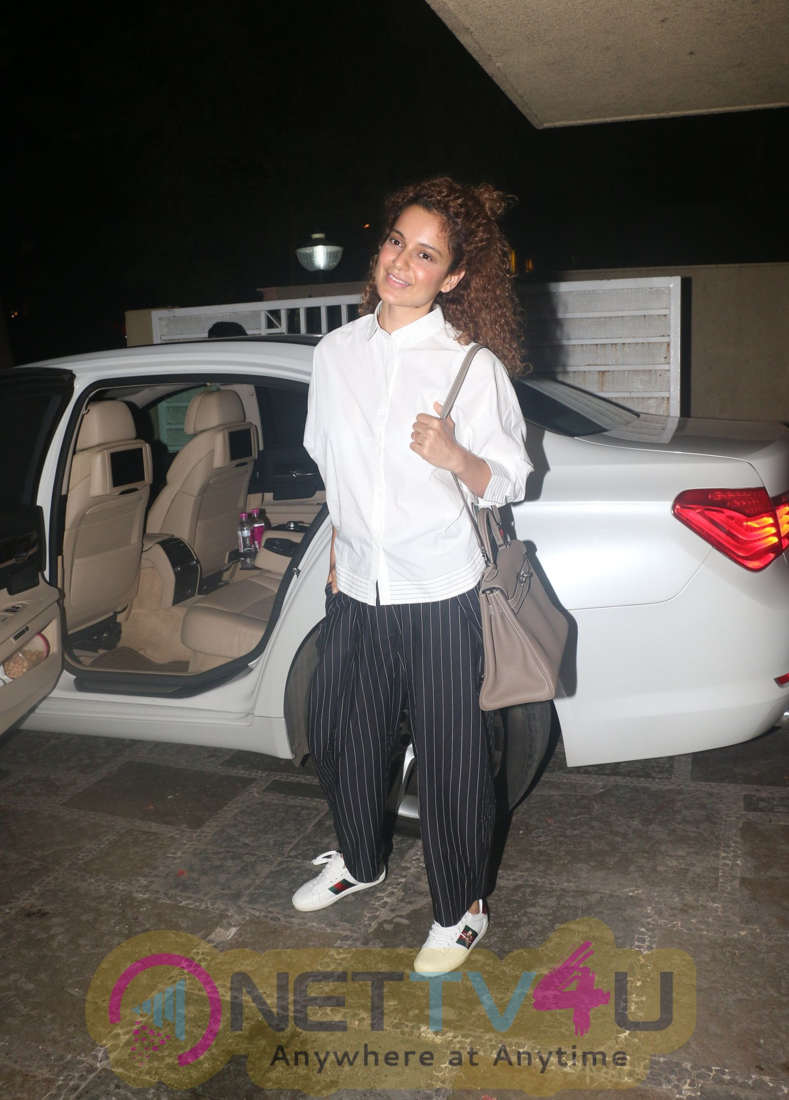 Kangana Ranaut Came to Movie
