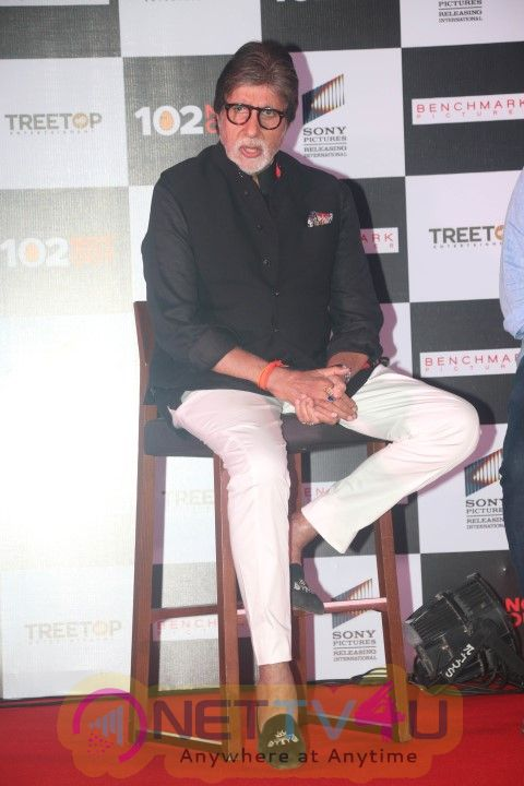 102 Not Out Success Press Meet For  Amitabh Bachchan & Rishi Kapoor Success  Hindi Gallery