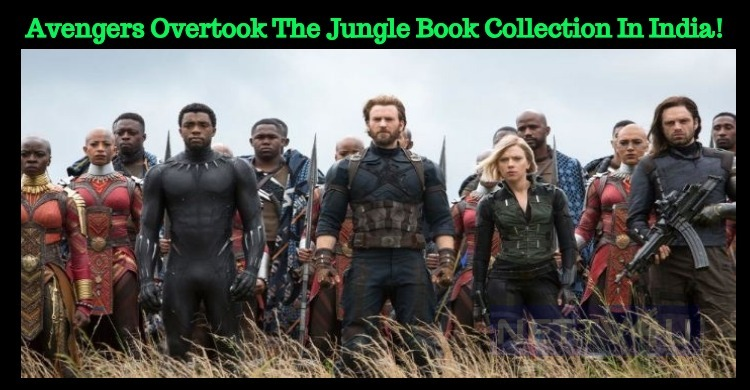 Avengers Overtook The Jungle Book Collection In..