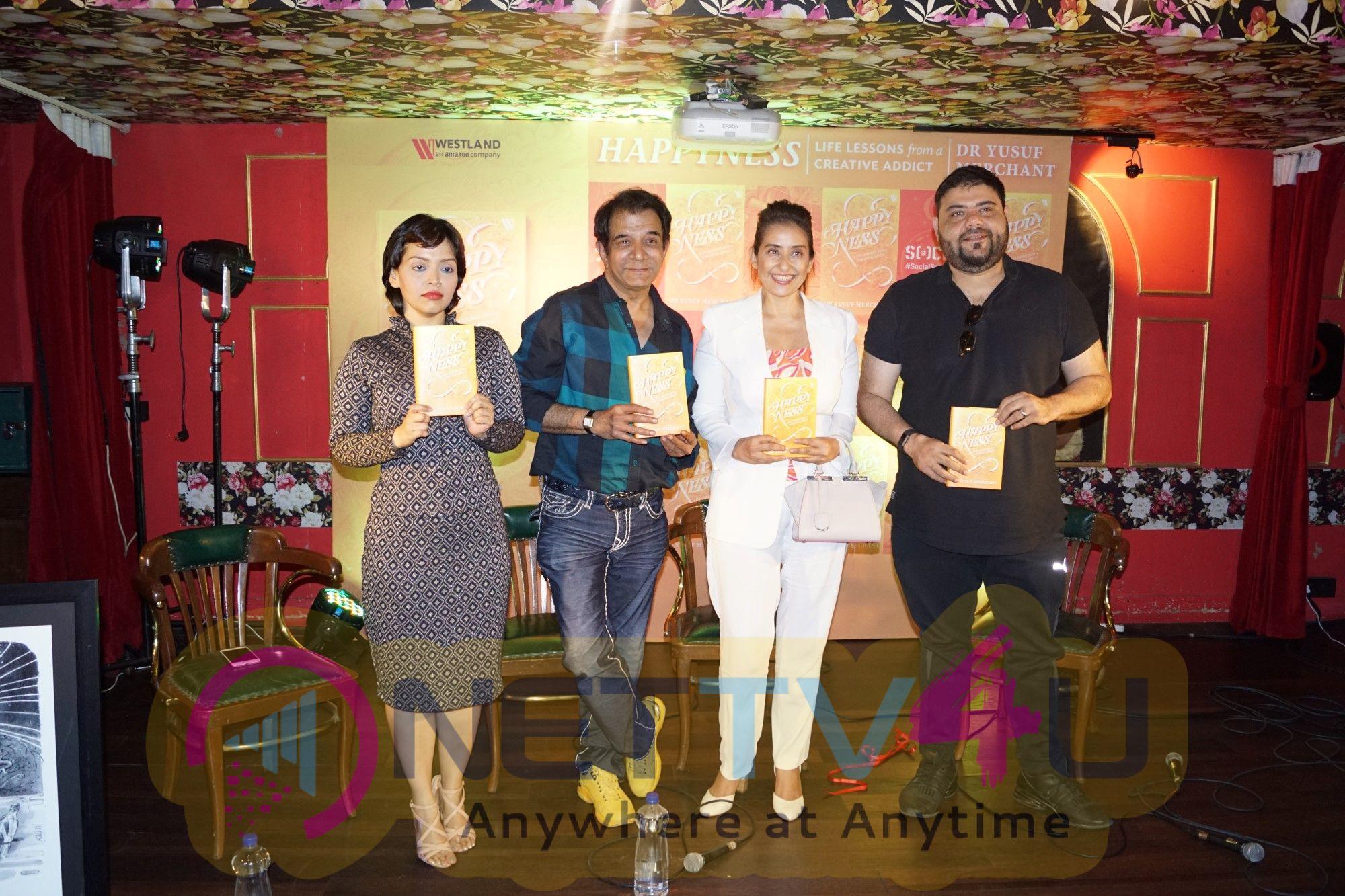 Manisha Koirala Launched Dr Yusuf Mechant's Book Happyness Life Lessons Hindi Gallery