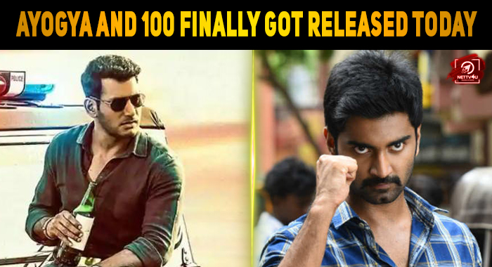 Vishal's Ayogya And Atharva's 100 Finally Got R..