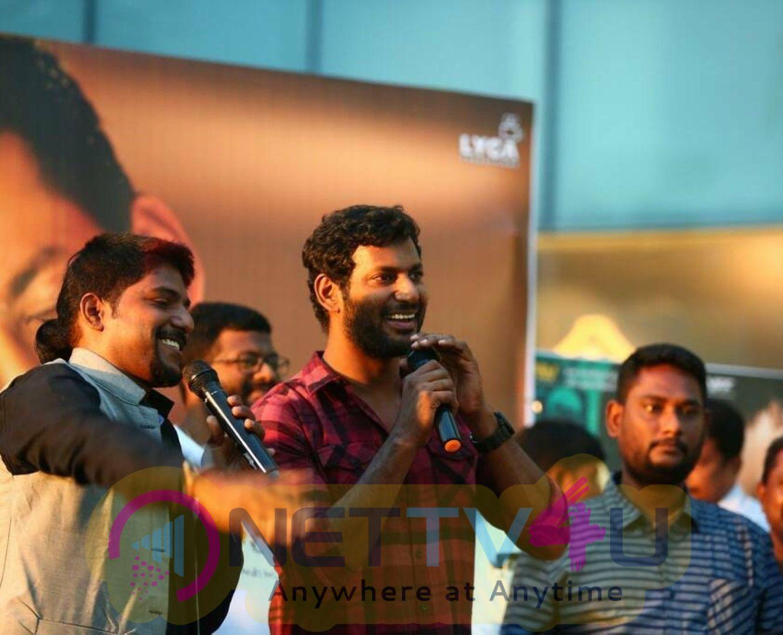 Abhimanyudu Movie Success Meet At Vizag Images Telugu Gallery