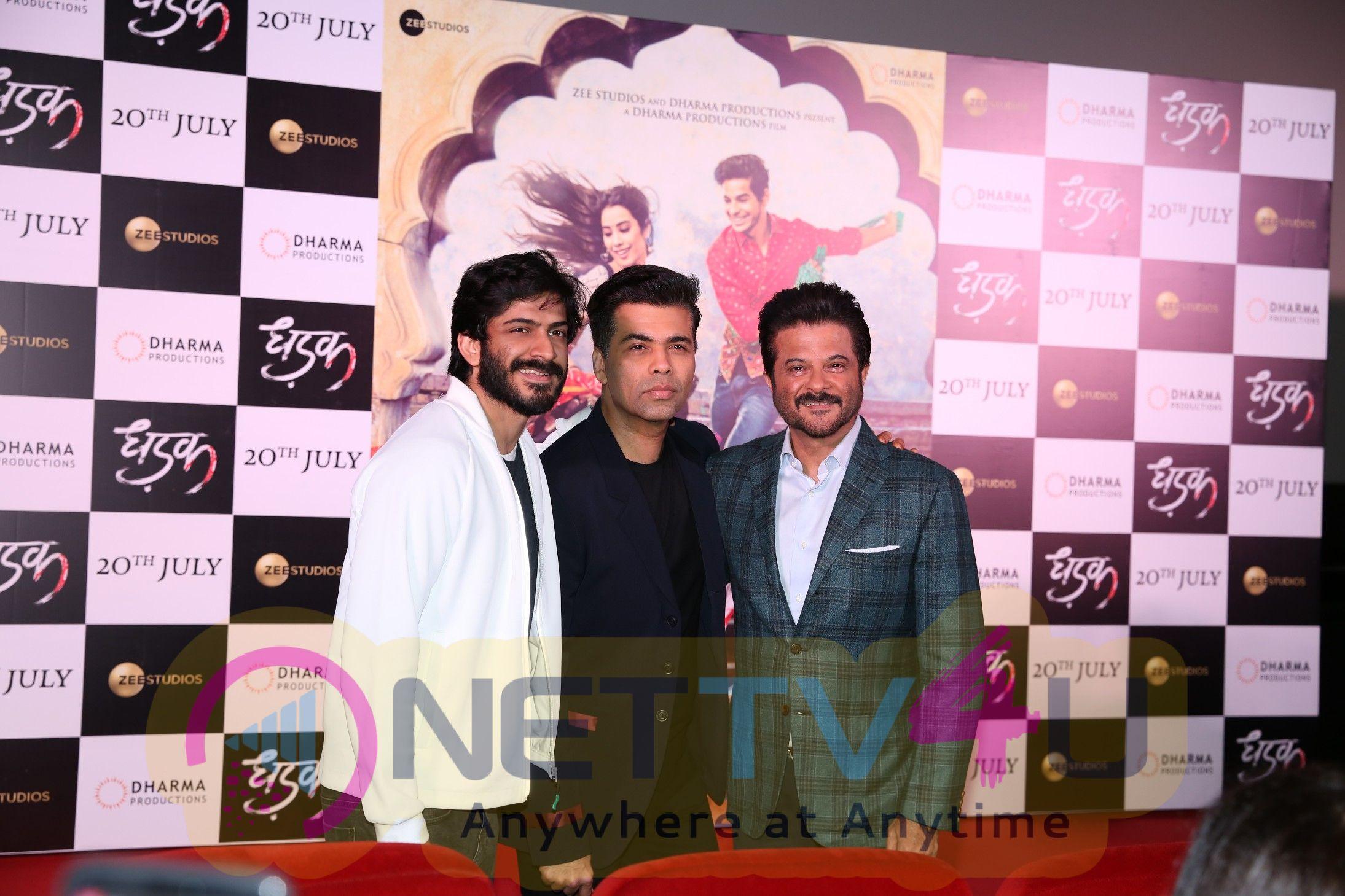 Trailer Launch Of Film Dhadak At Pvr Hindi Gallery