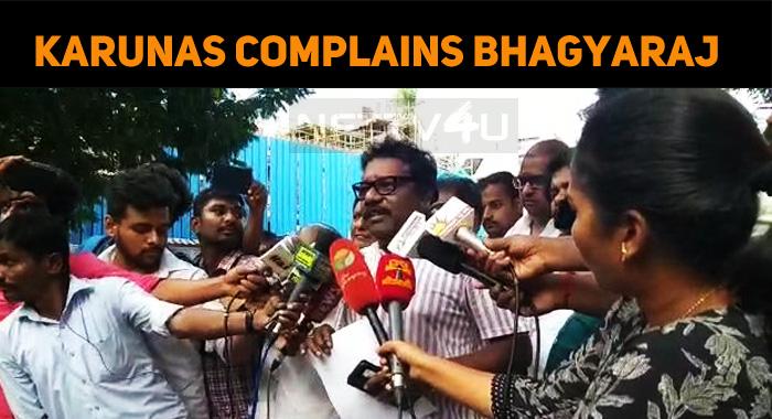 Karunas Complains Bhagyaraj And Ishari Ganesh!