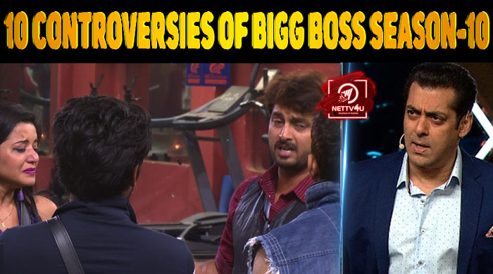 Top 10 Controversies Of Bigg Boss Season-10   Latest