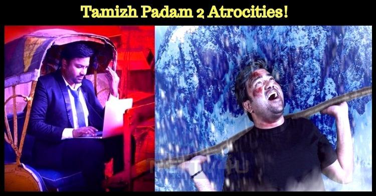Tamizh Padam 2 Atrocities! Amudhan Didn't Leave The Biggies!