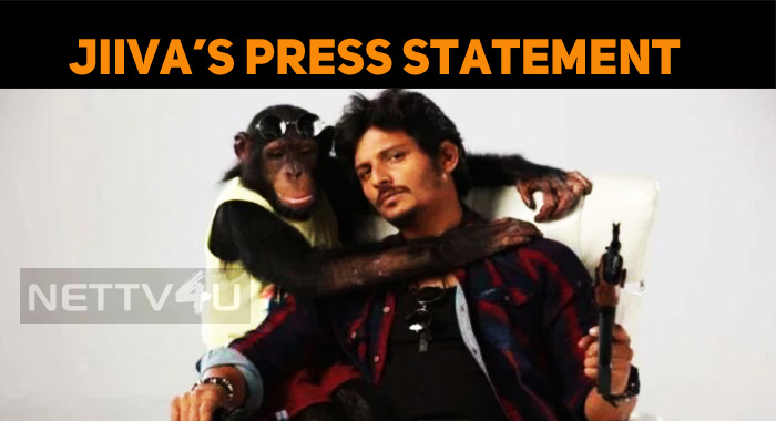 Jiiva's Press Statement!