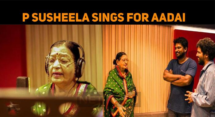 P Susheela Croons For Amala Paul's Aadai!