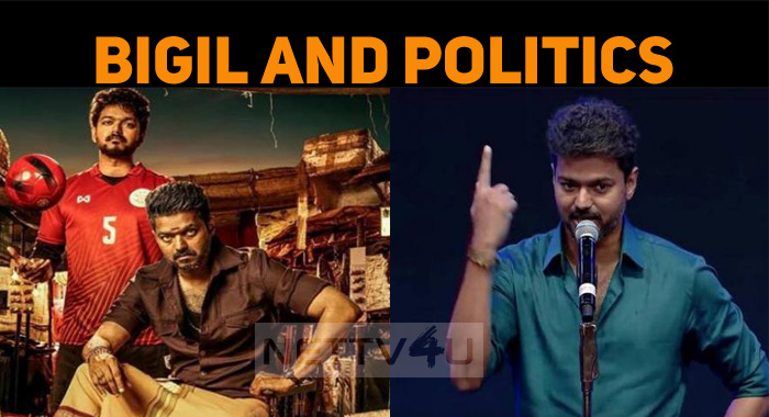 What Is The Special Political Dialogue In Thalapathy Vijay's Bigil?