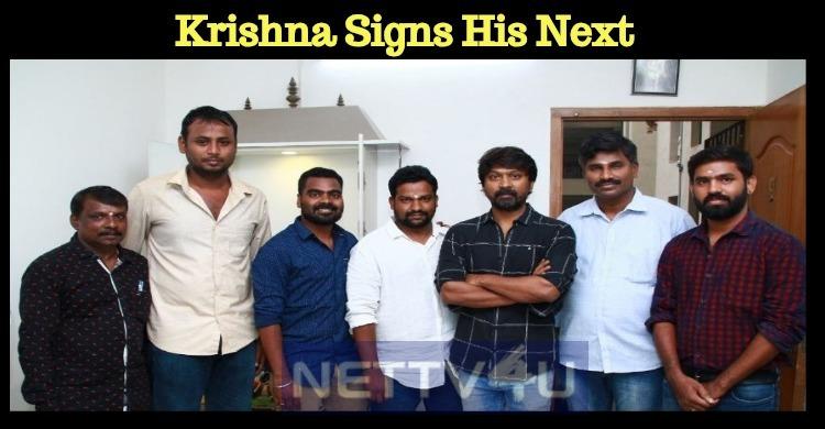 Krishna Signs His Next!