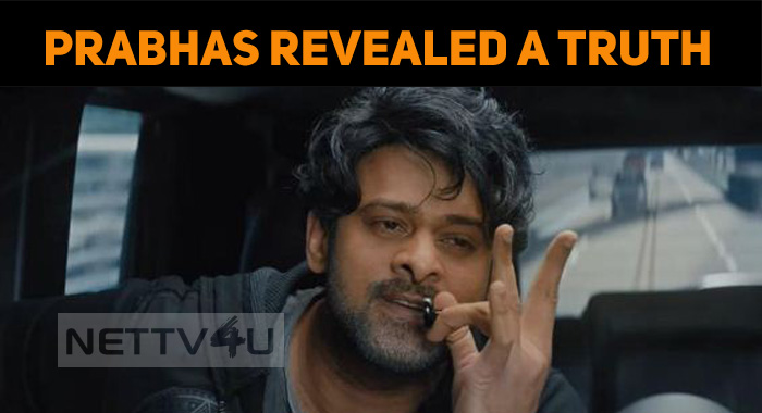 Prabhas Revealed A Truth At Trailer Launch!