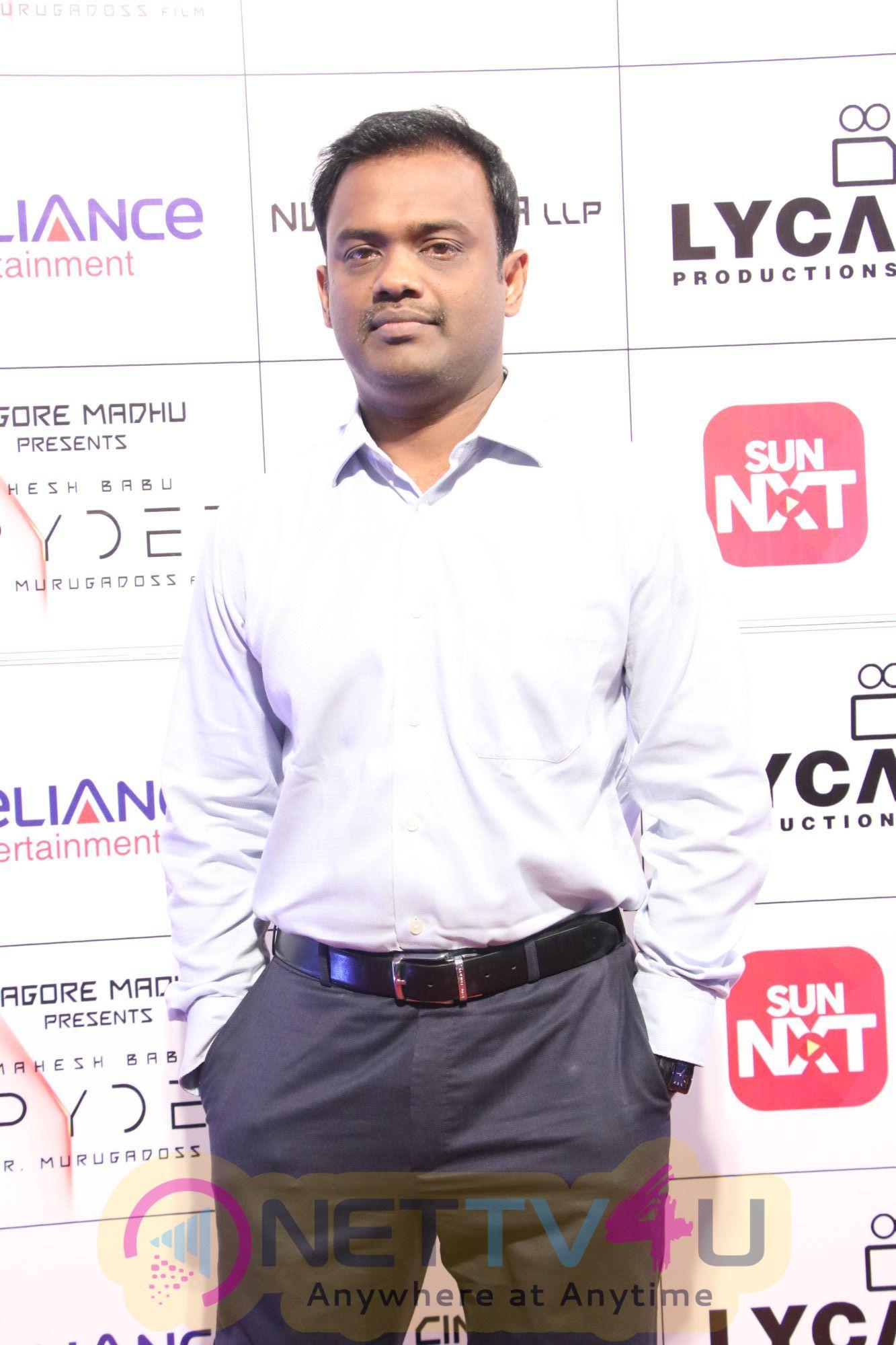 Spyder Movie Audio Launch Pics Tamil Gallery