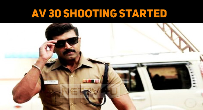 Arun Vijay's Next Movie Shooting Started!