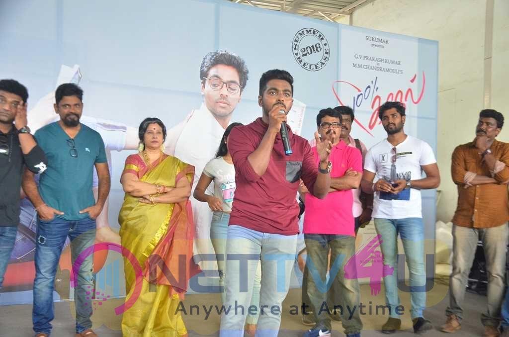 100% Kaadhal Movie Launch And Press Meet Stills