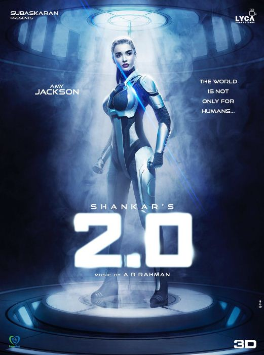 Amy Jackson First Look In 2.0 Revealed!
