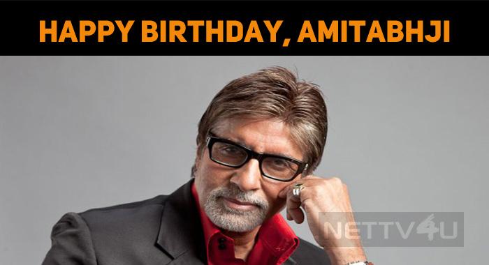 Amitabh Bachchan Celebrates His Birthday Today!..