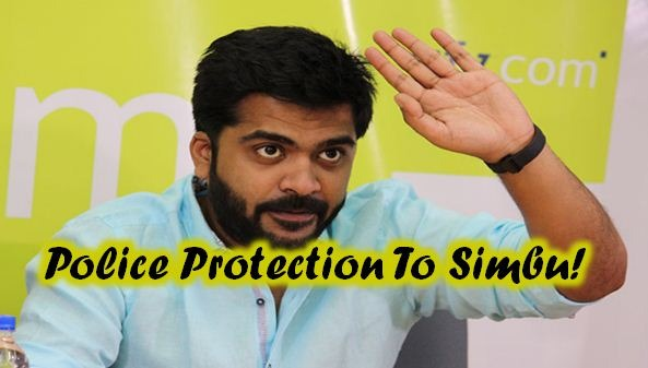 Police Protection To Simbu's House!