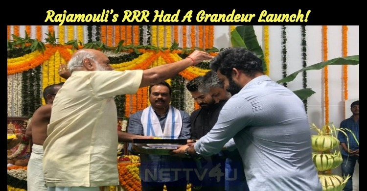 Rajamouli's RRR Had A Grandeur Launch!
