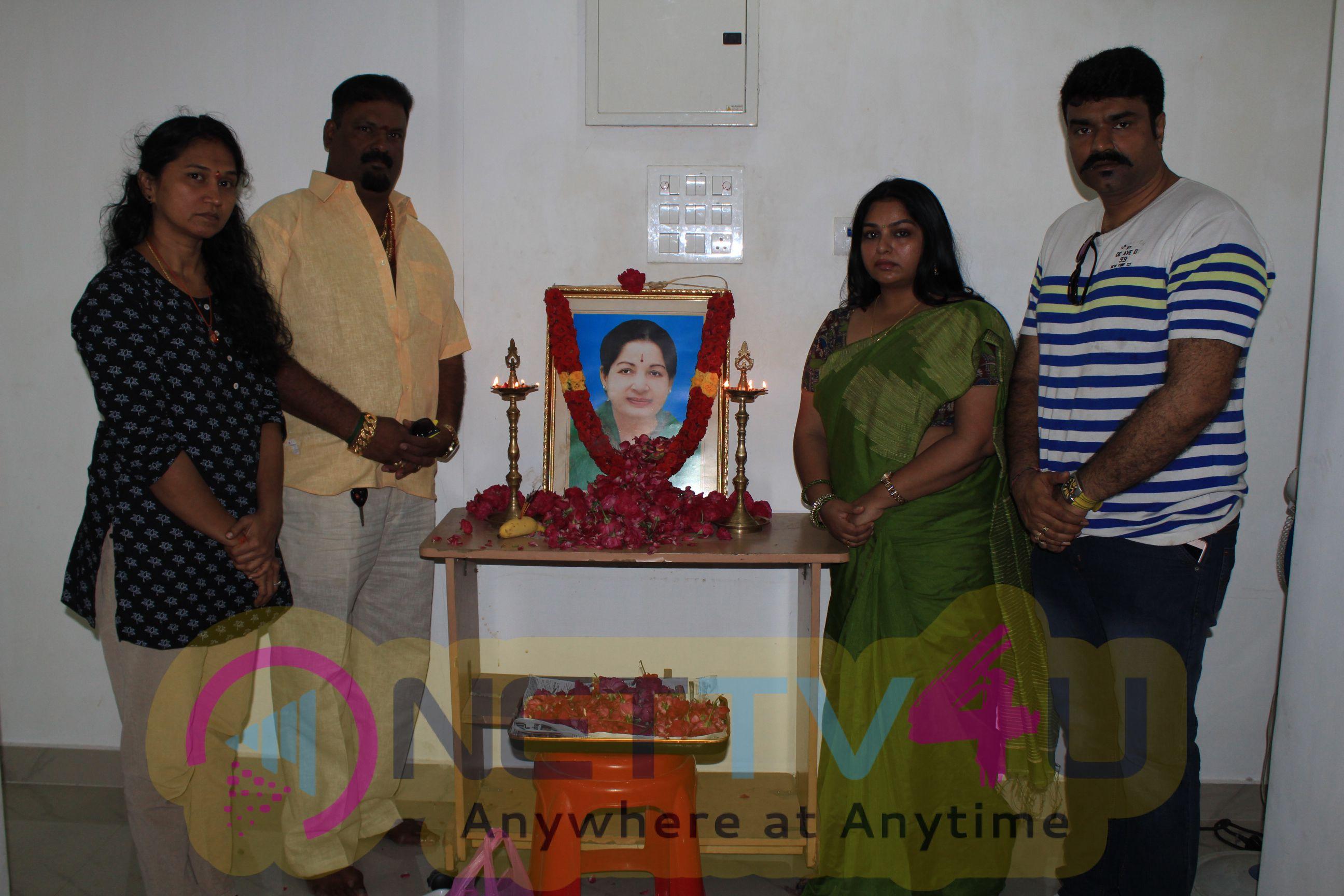 Chinnathirai Nadigar Sangam's Condolence Meet For Jayalalithaa Photos