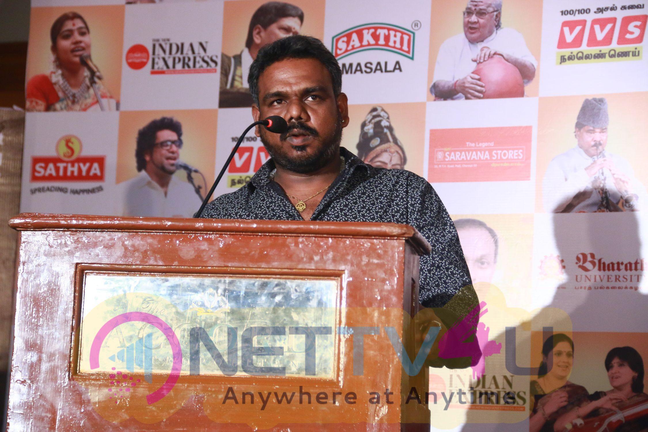 Chennaiyil Thiruvaiyaru Season 13 Press Meet Stills