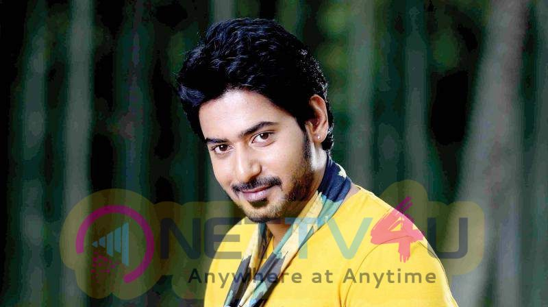 Actor Prajwal Devaraj Handsome Stills Kannada Gallery
