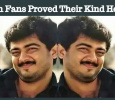 Ajith Fans Proved Their Kind Heart!